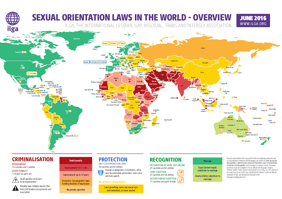 LGBT 地図